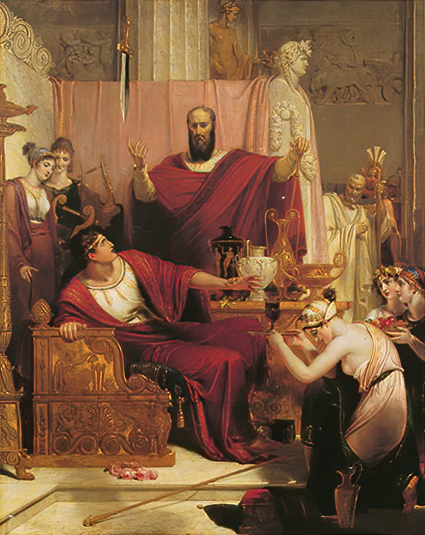 Richard Westalls The Sword of Damocles, 1812