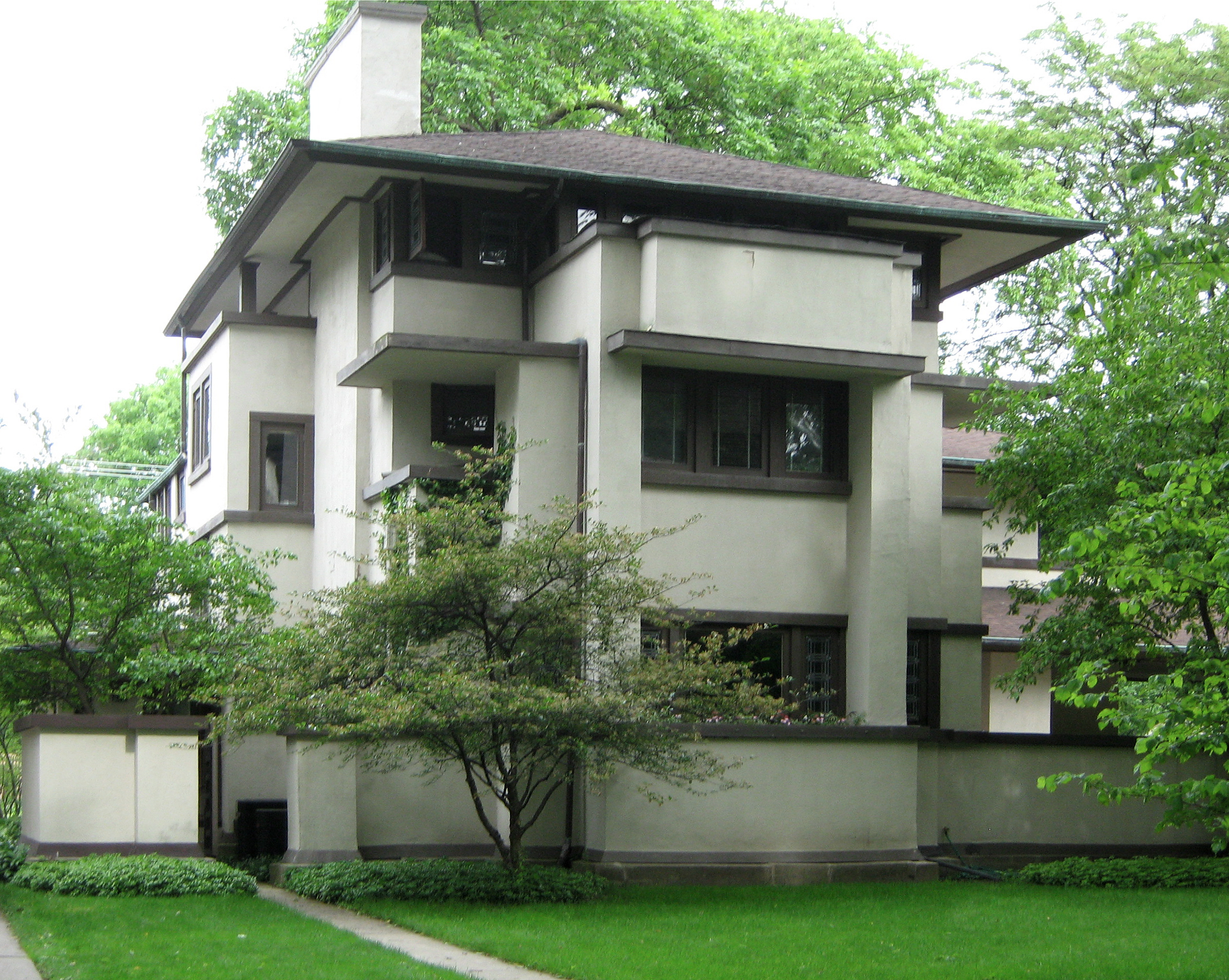 Silvae frank lloyd wright for Wright style