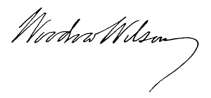File:Woodrow wilson signature.png - Wikimedia Commons