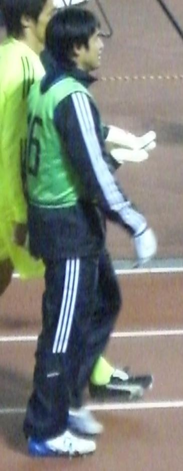 キリンチャレンジカップ、ボスニア戦(2008年1月30日、国立霞ヶ丘陸上競技場にて)Wikipediaより