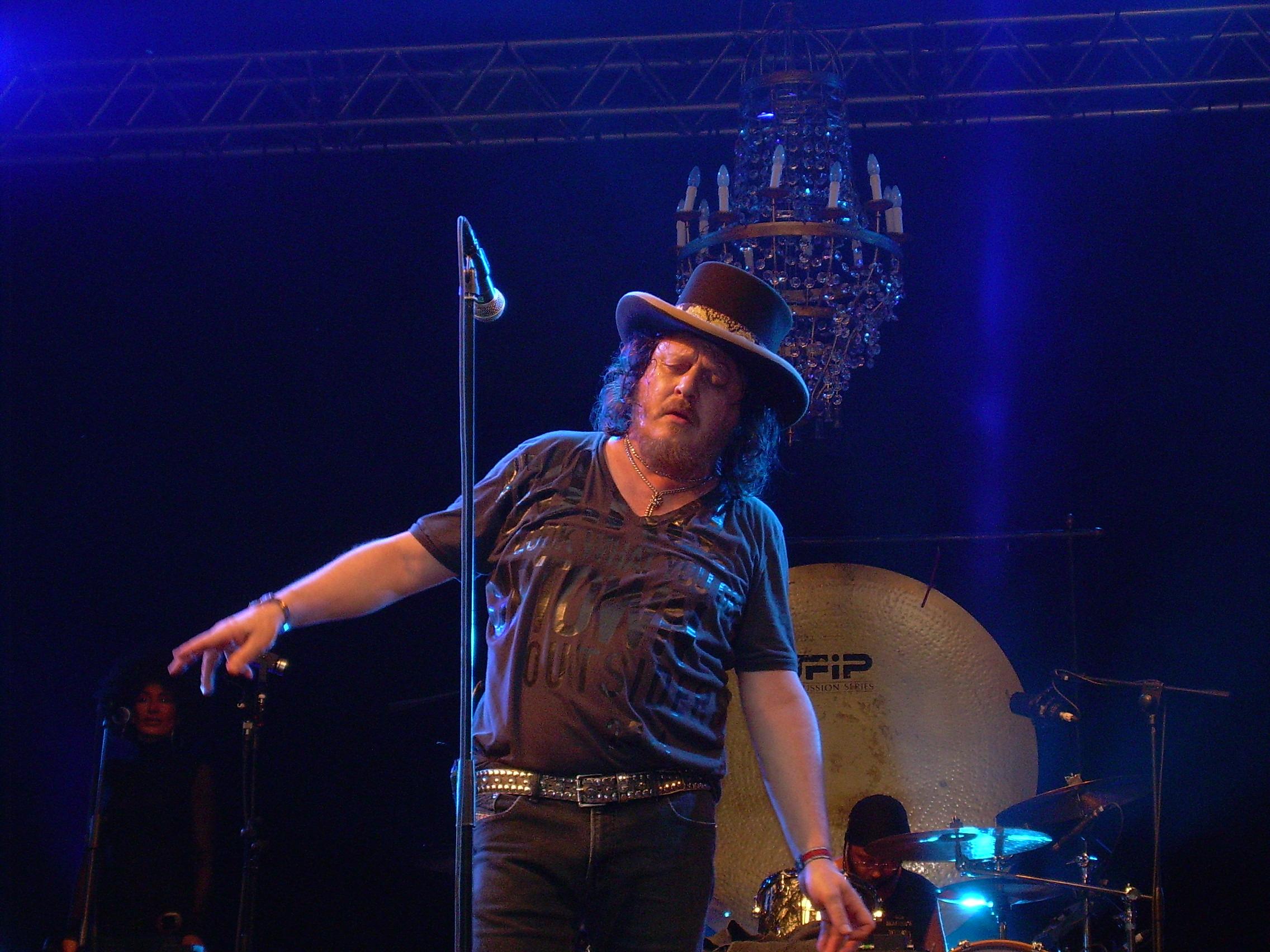 Zucchero en el Skanderborg Festival en Dinamarca (Agosto  de 2007).