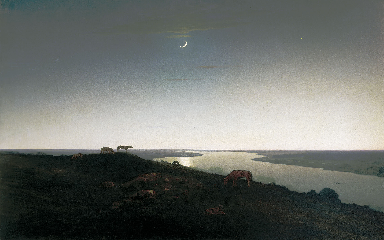 Ночное,,)(стих  автор Елена Хвоя 00Kuindzhi_NochnoeGRM1