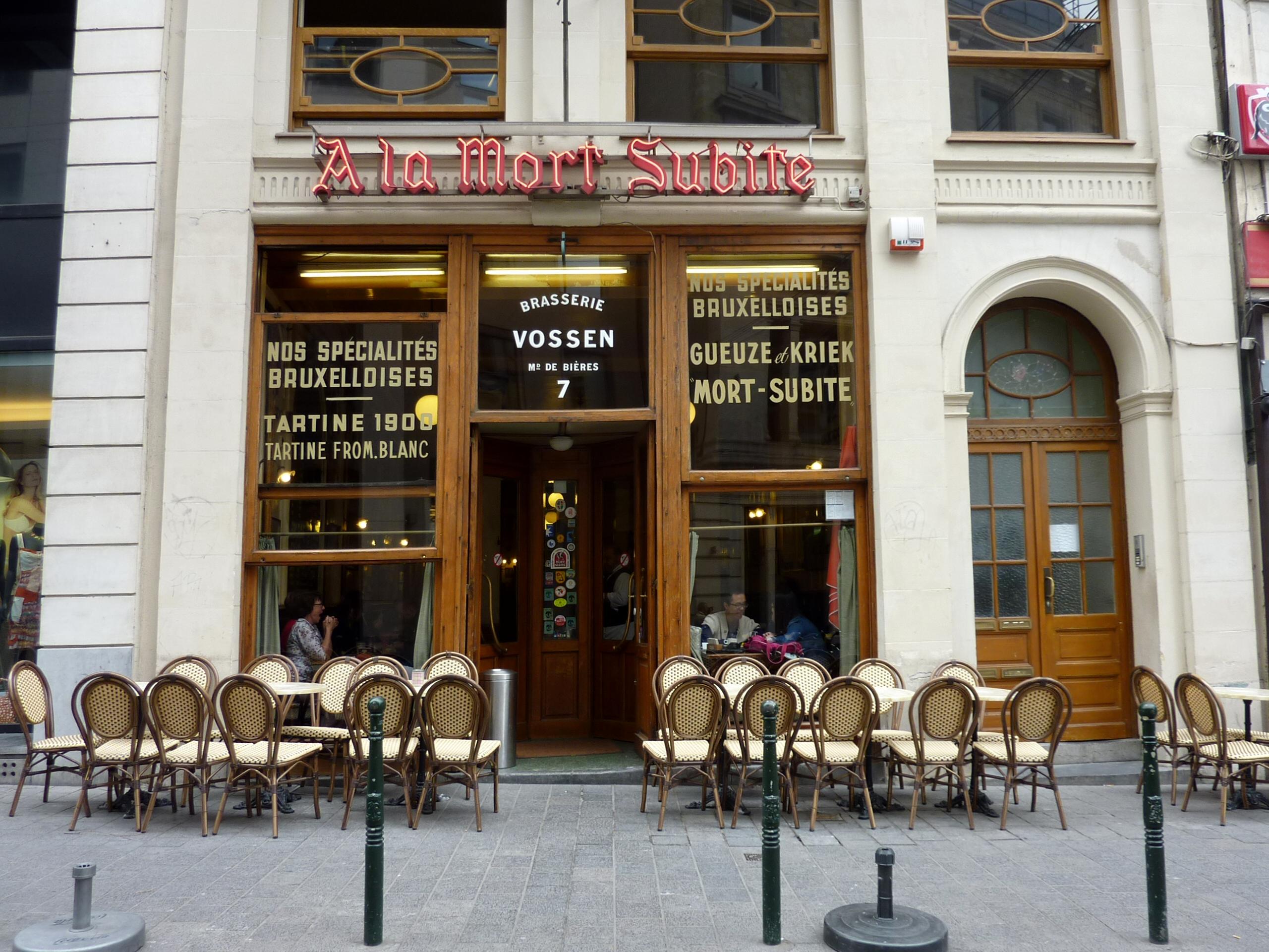 Fichier 038 Caf 233 La Mort Subite Bruxelles Jpg Wikip 233 Dia