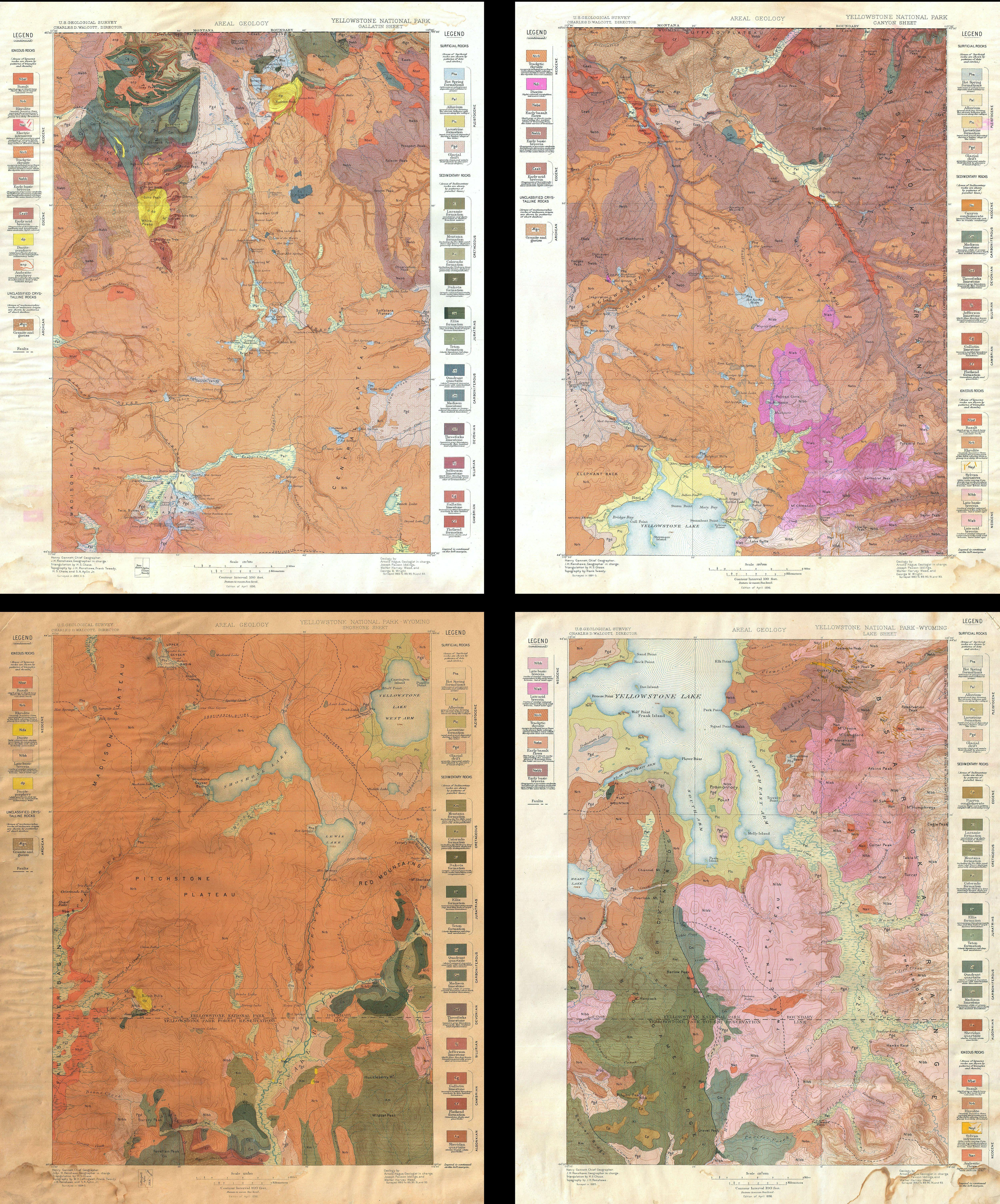 File US Geological Survey Geological Map Of Yellowstone - Map of yellowstone on map of us