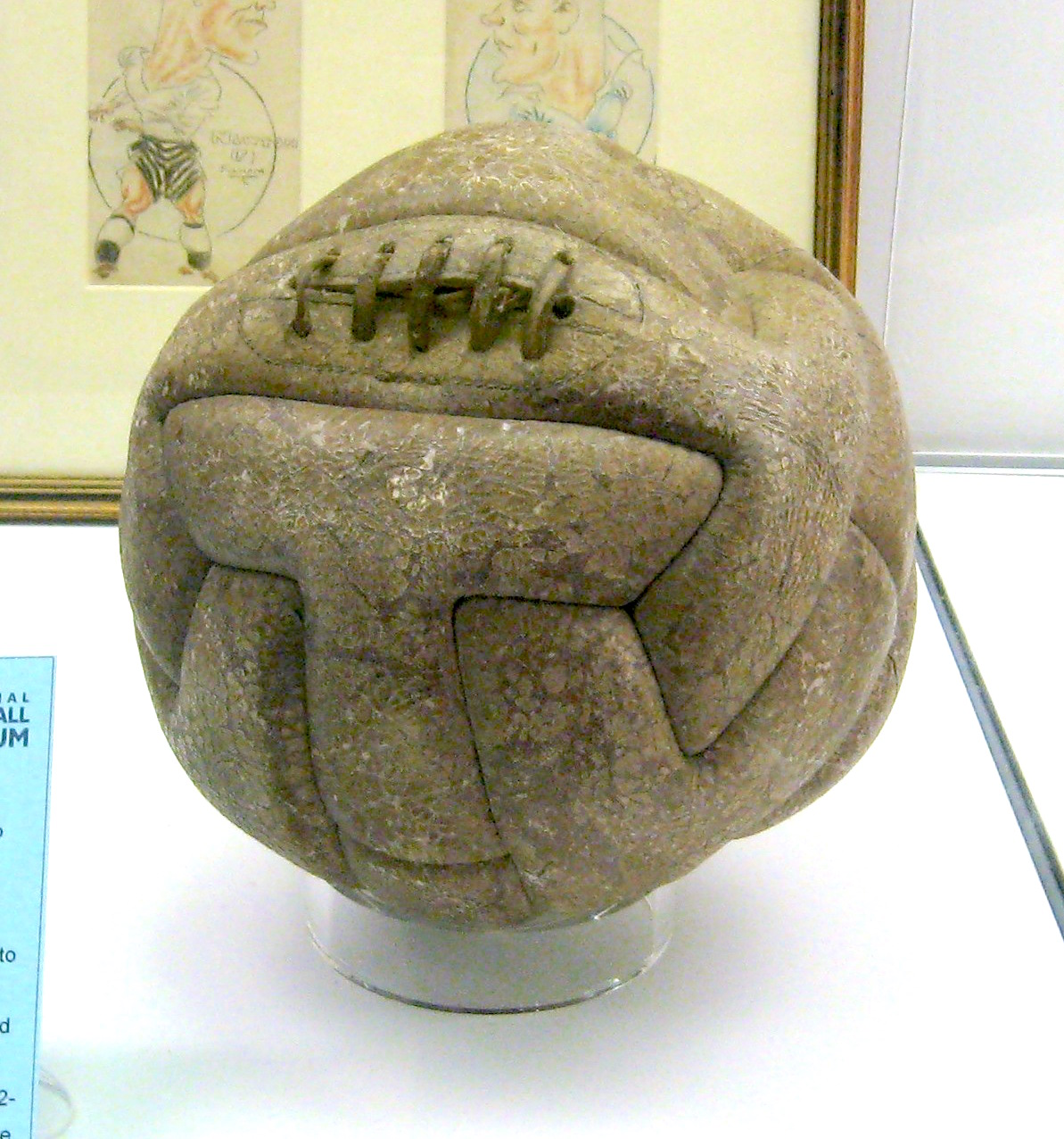 1930 World Cup Final Ball Uruguay
