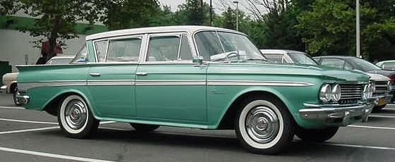 File Rambler Classic Sedan Green Jpg Wikimedia Commons