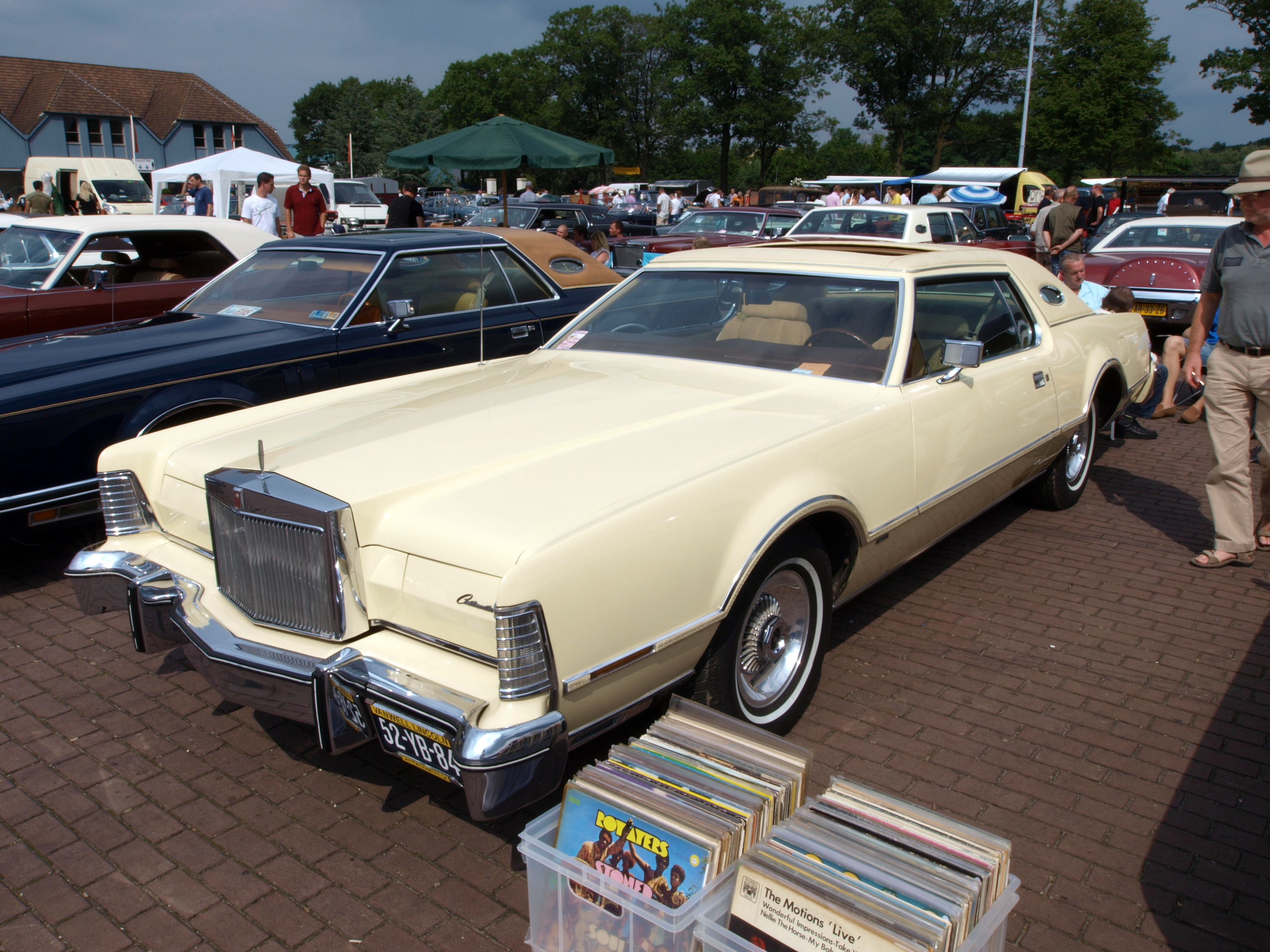File 1976 Lincoln Continental Mark Iv Dutch Licence