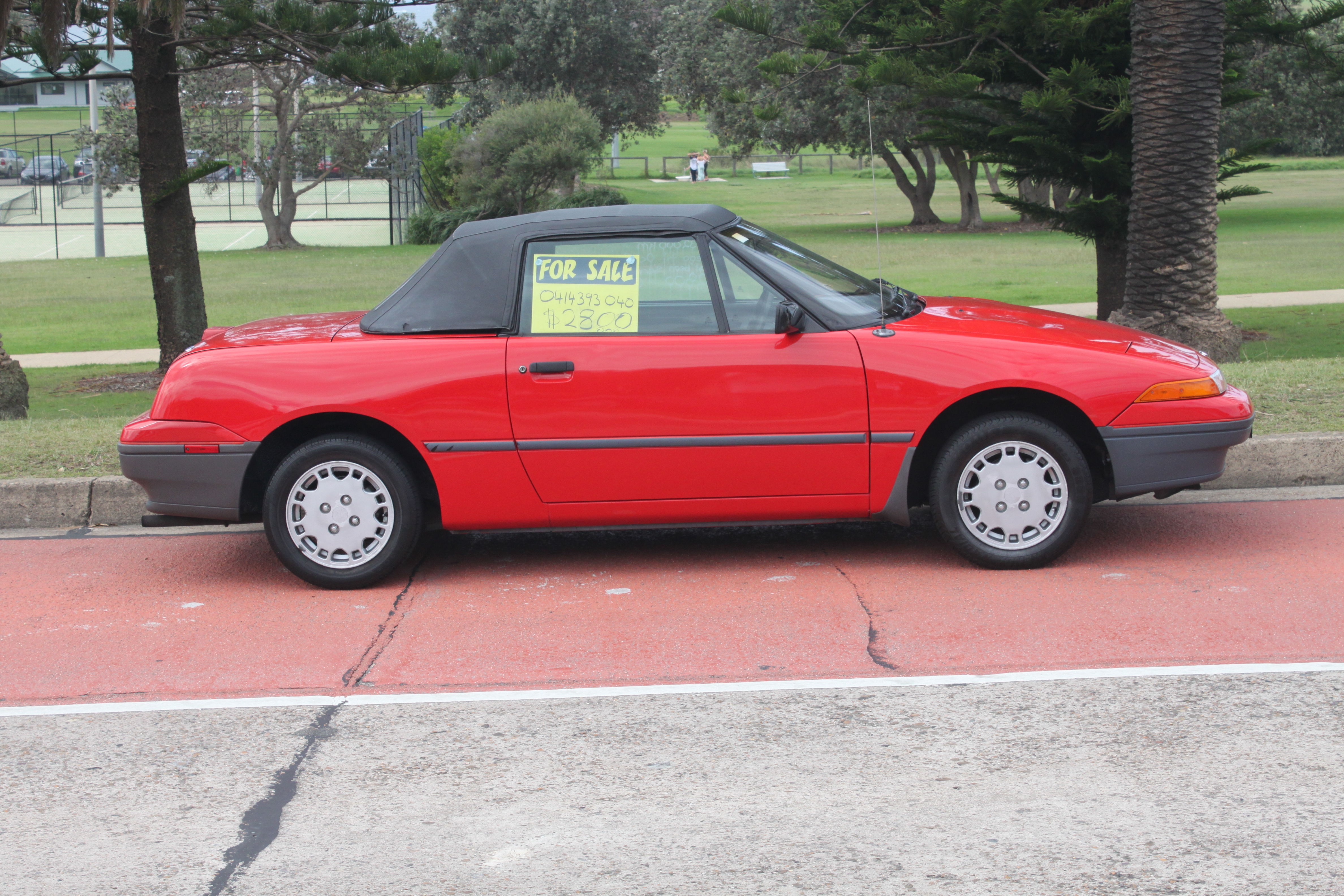 File 1990 Ford Capri Sa Convertible 16932076960 Jpg Wikimedia Commons