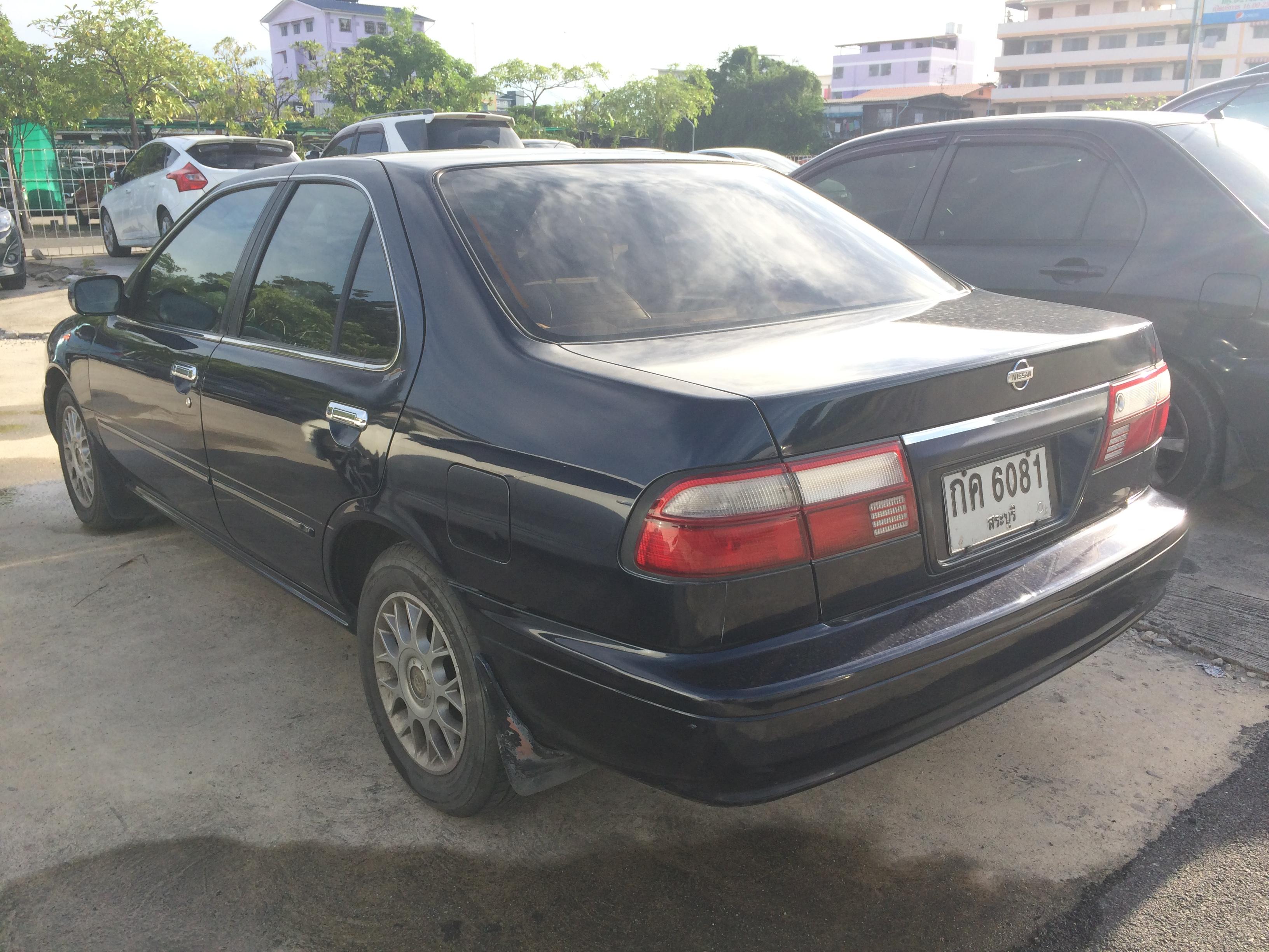 File 1999 2000 Nissan Sunny B14 1 6 Super Saloon Sedan 08 06 2018