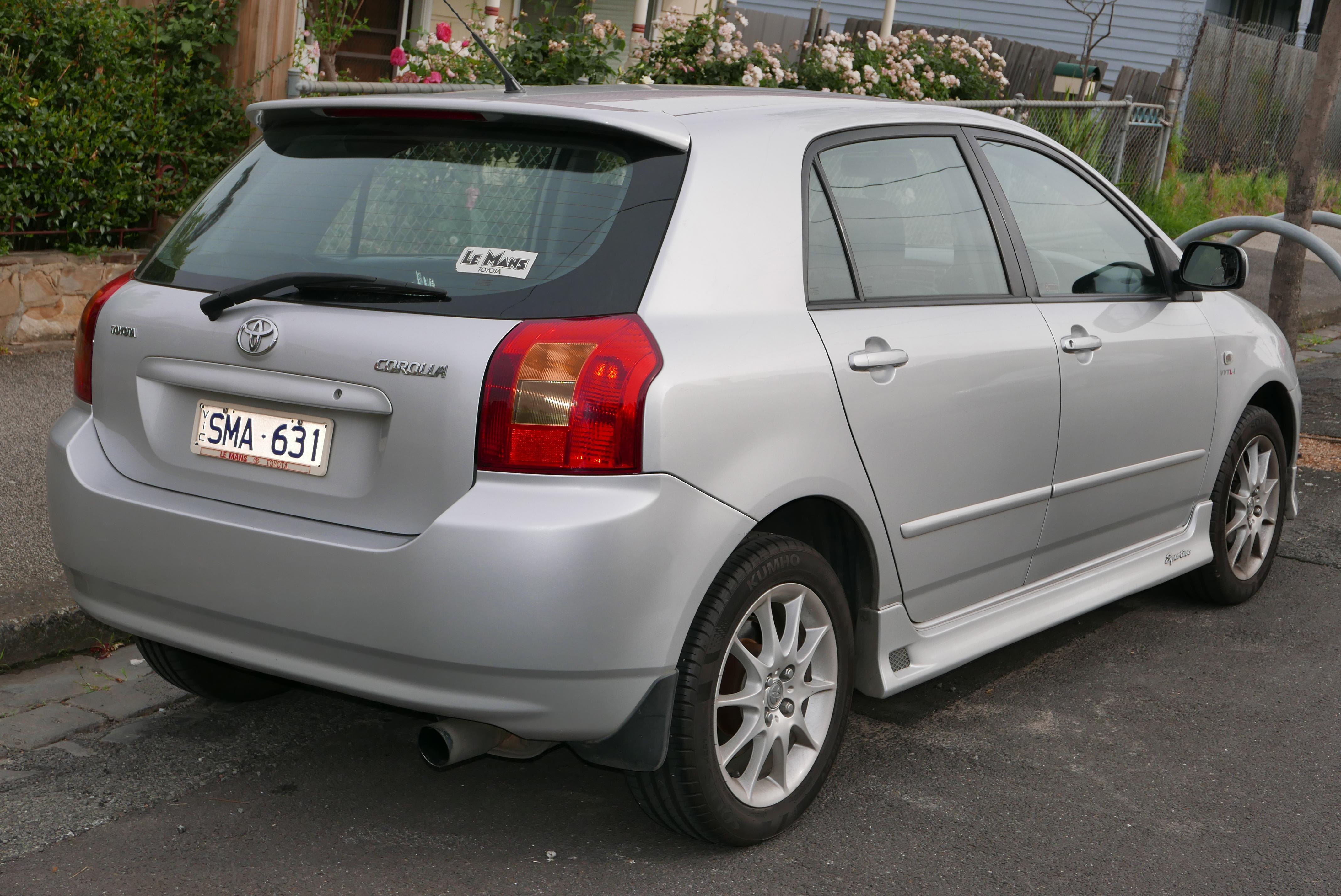 Kelebihan Corolla 2003 Spesifikasi