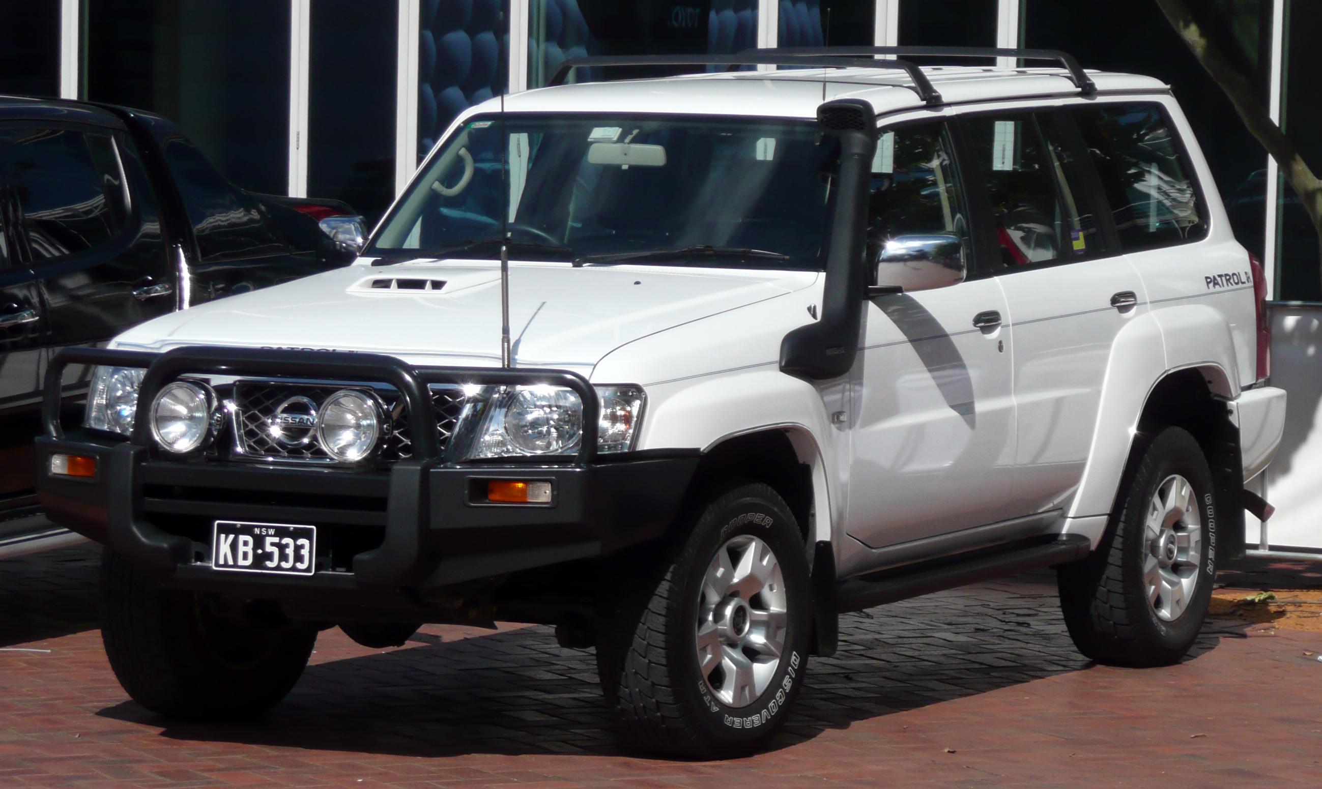 nissan patrol, 2008