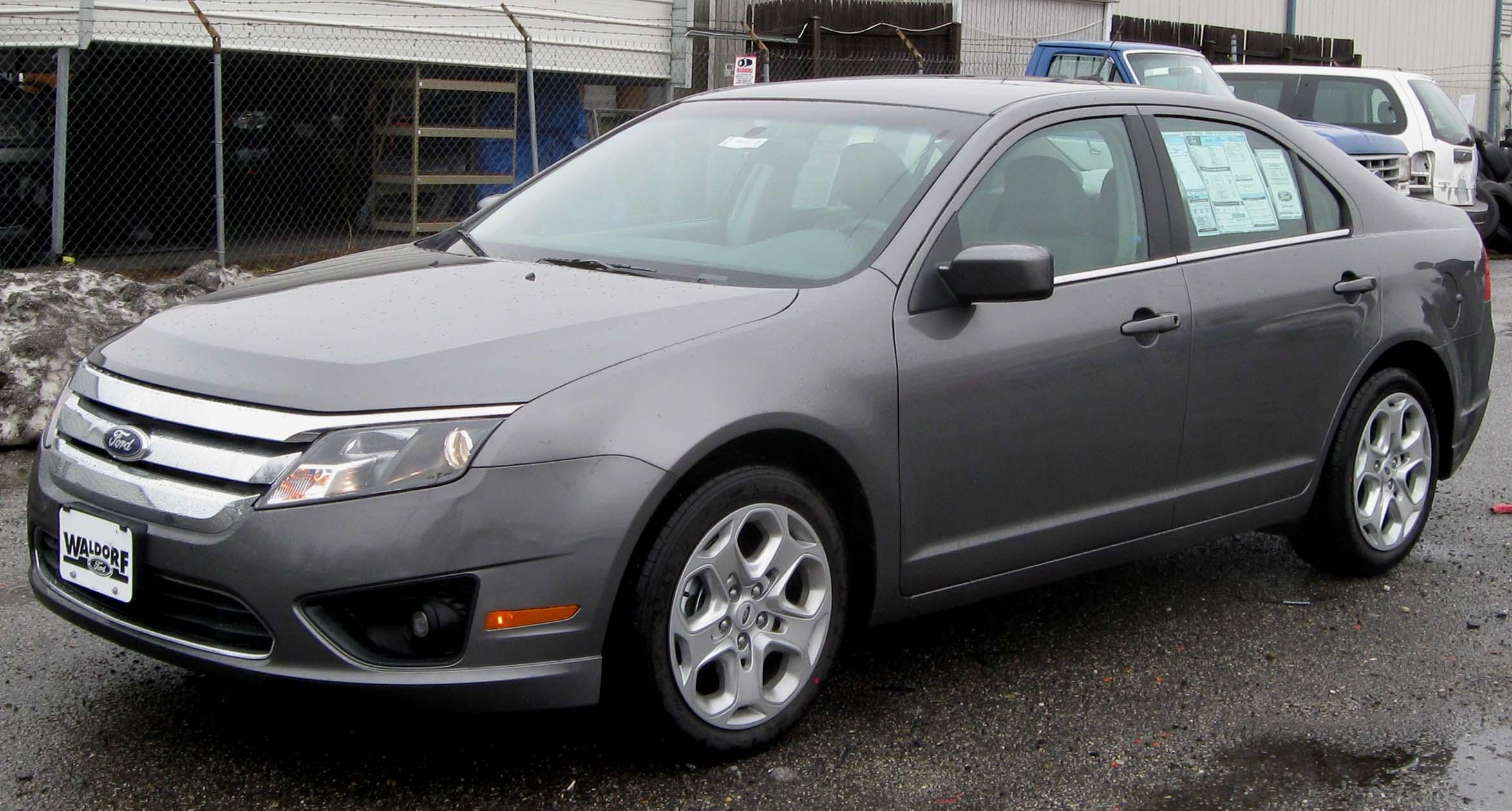2010 ford fusion se 2.5 l manual sedan