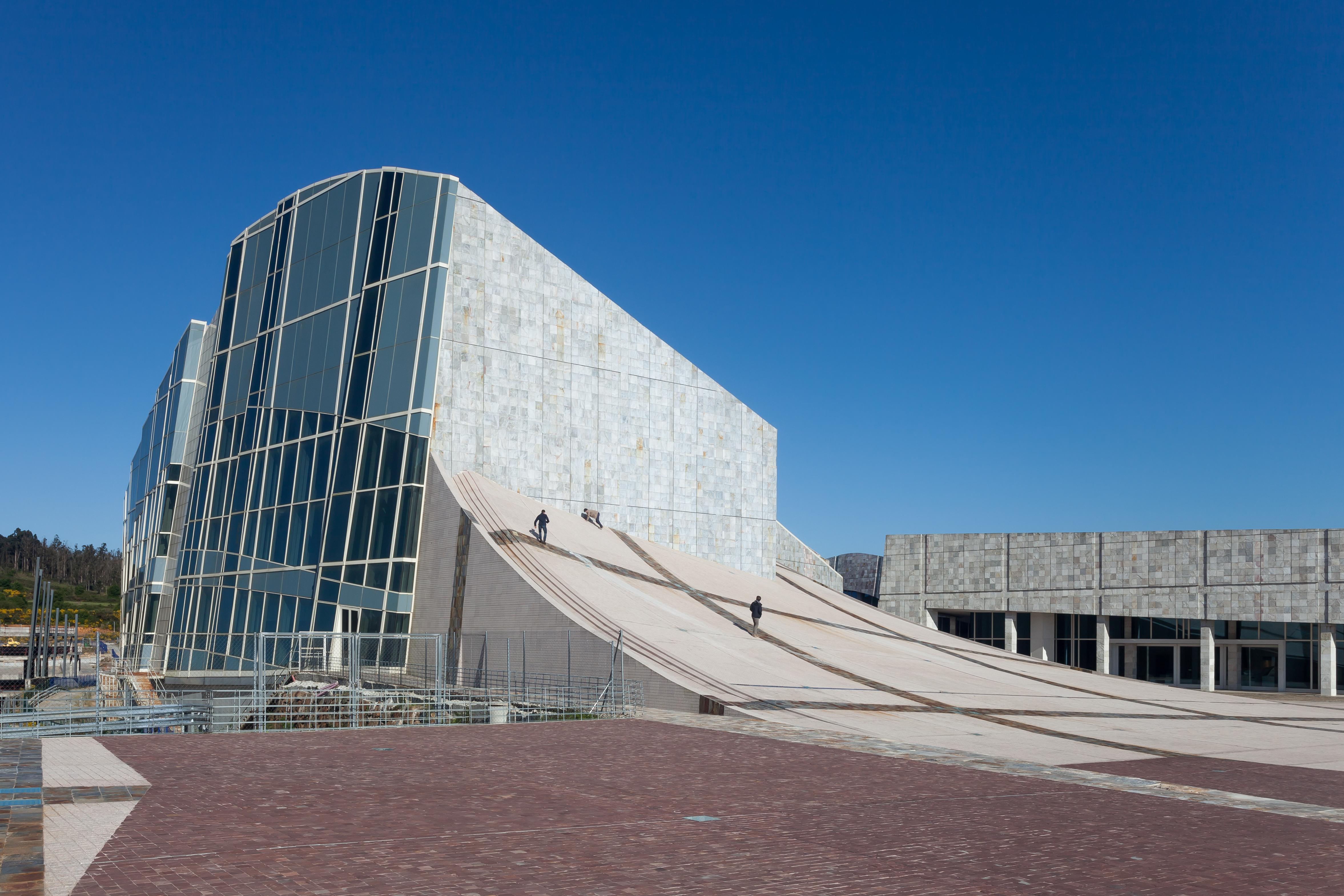 File:2013. Cidade da Cultura. Santiago de Compostela ...