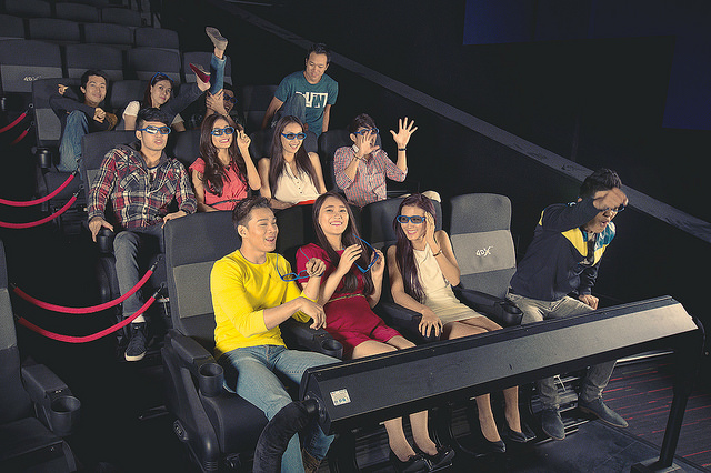 D Real Effects Movie Theatre