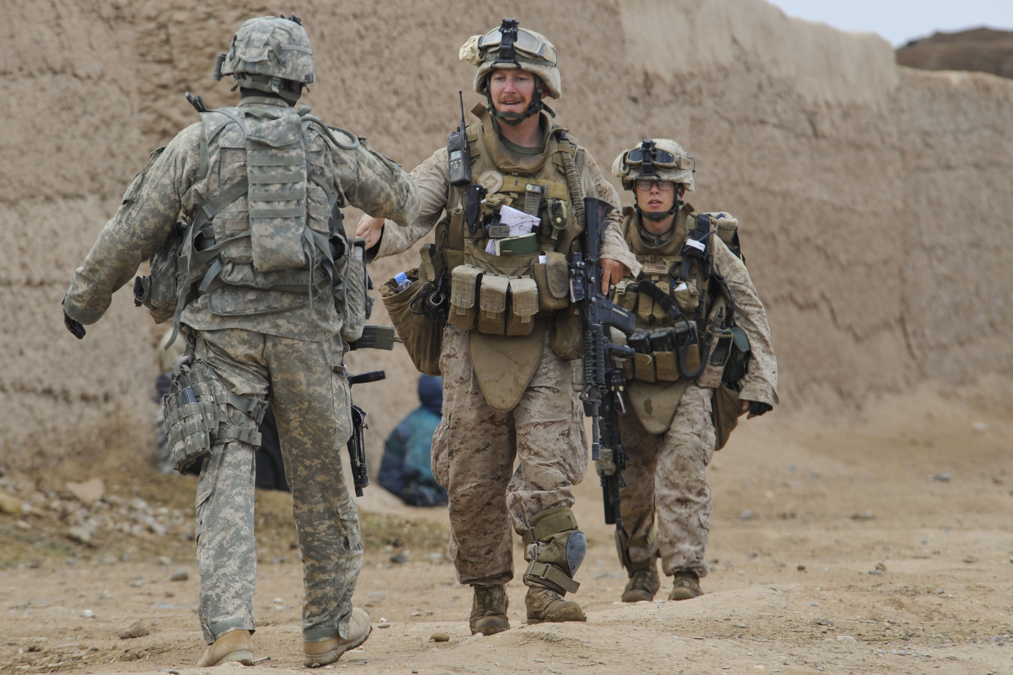 file 6th marine rgt in badula qulp during operation helmand spider