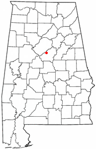 Loko di Indian Springs Village, Alabama