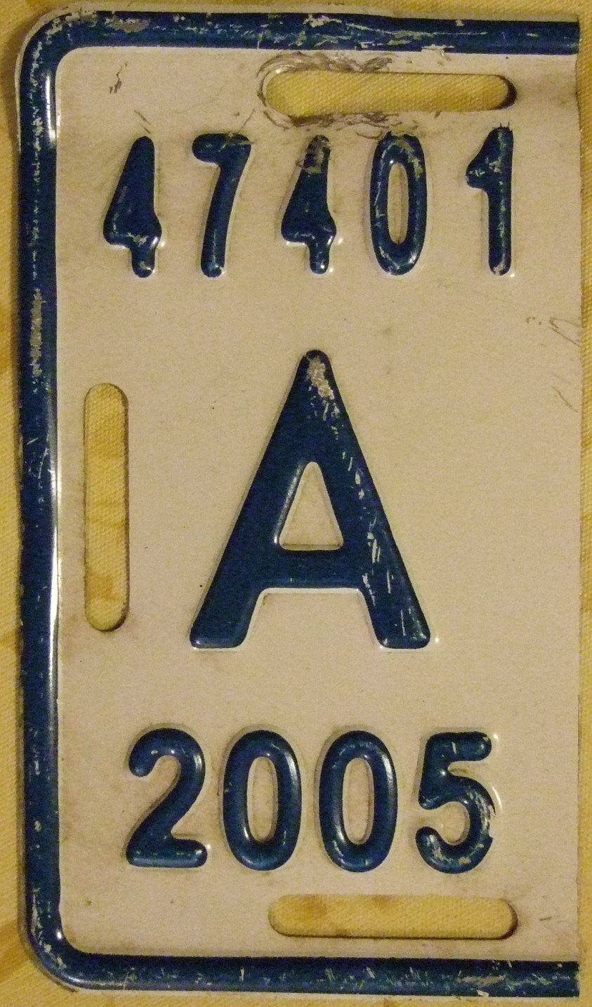 File:ARUBA 2005 -HALF YEAR LICENSE PLATE TAB - Flickr - woody1778a ...