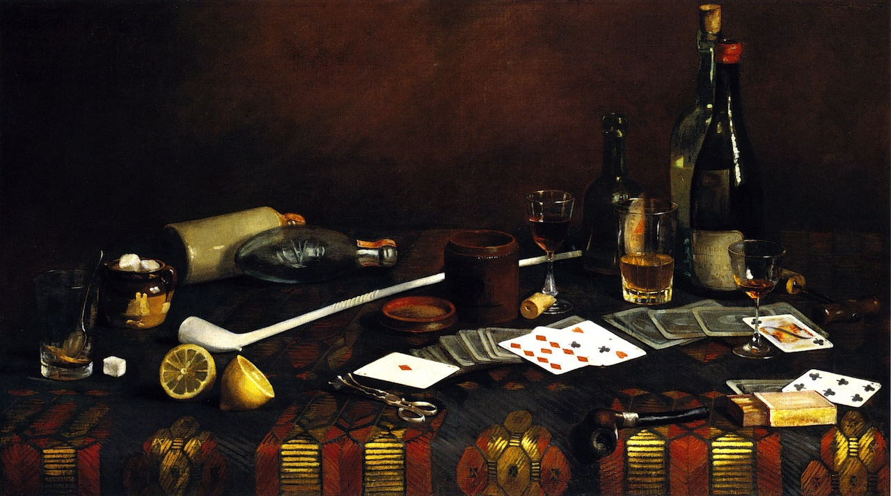 File:A Gentlemanu0027s Table (Hirst Painting)