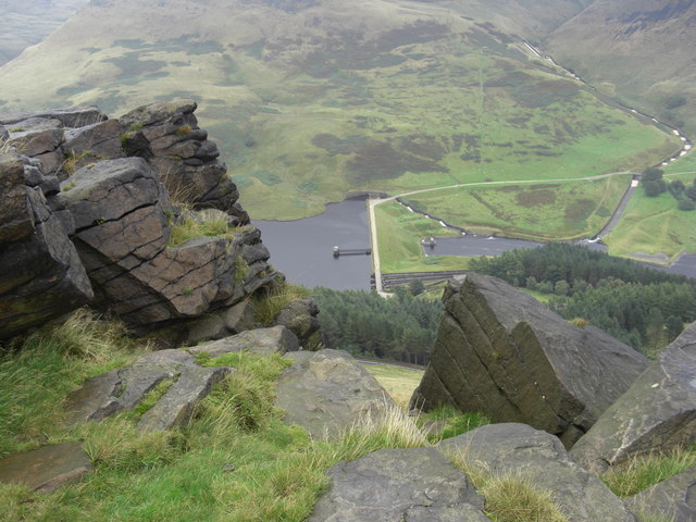 A view from Alderman's Rocks - geograph.org.uk - 950450