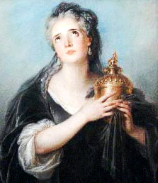 Depiction of Adriana Lecouvreur