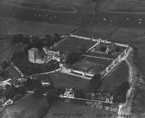 Portus Adurni Roman fort