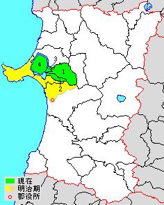 Minamiakita District, Akita district of Japan