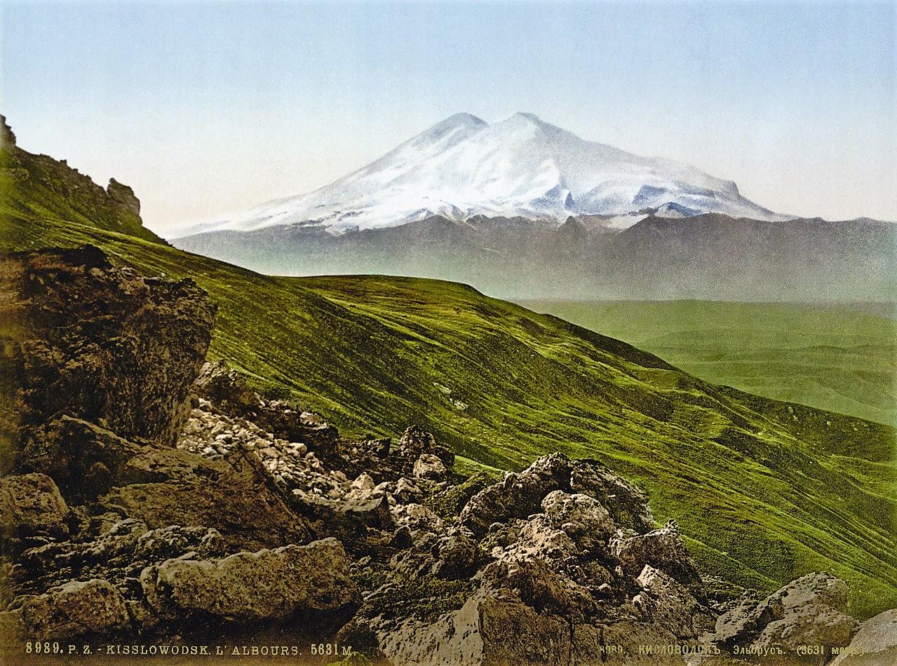 Monte Elbrus, la altitud culminante del Cáucaso