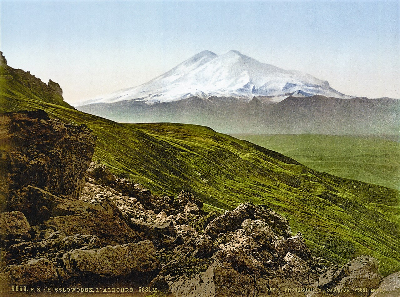 La Montaña Elbrus, en Rusia