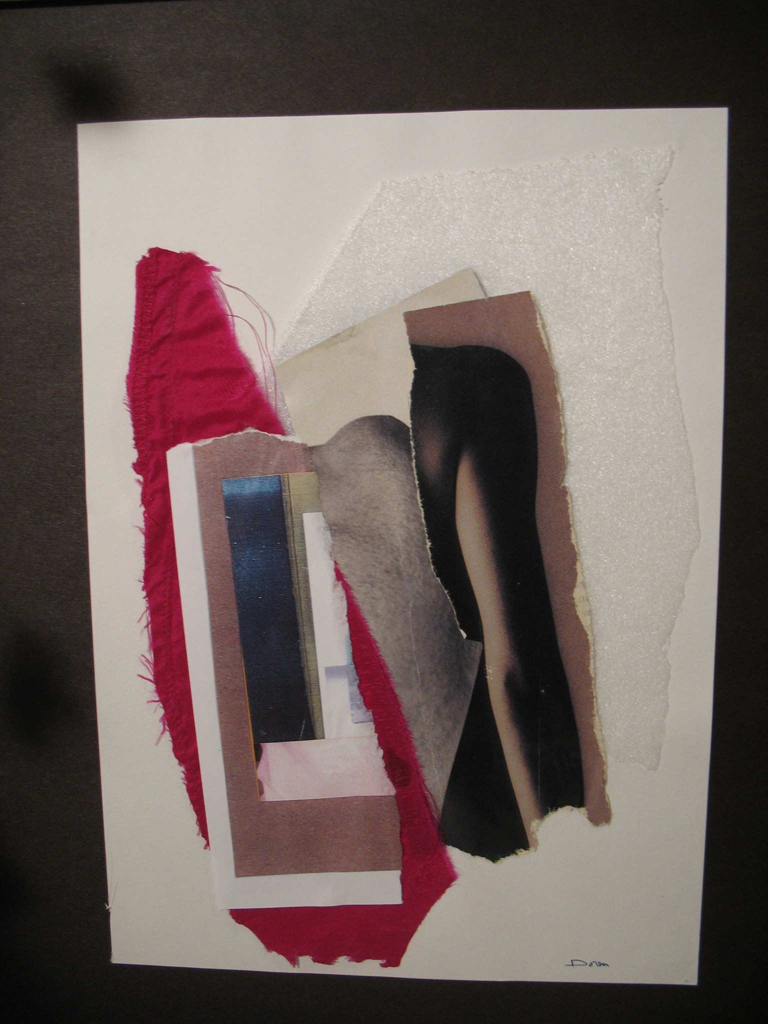 File:Art-Mixed-media-Married Shoulders-photos, silk, cloth ...