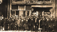English: Atlanta Life Insurance Company est. 1...