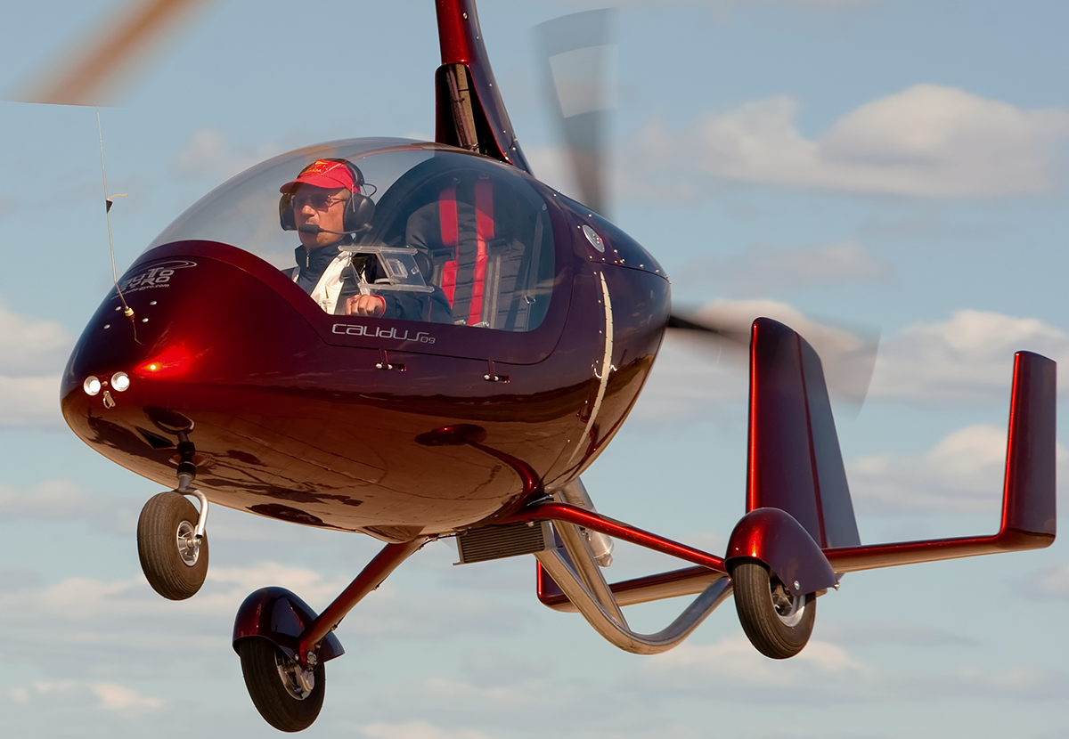 "File:Autogyro""Calidus""in flight."