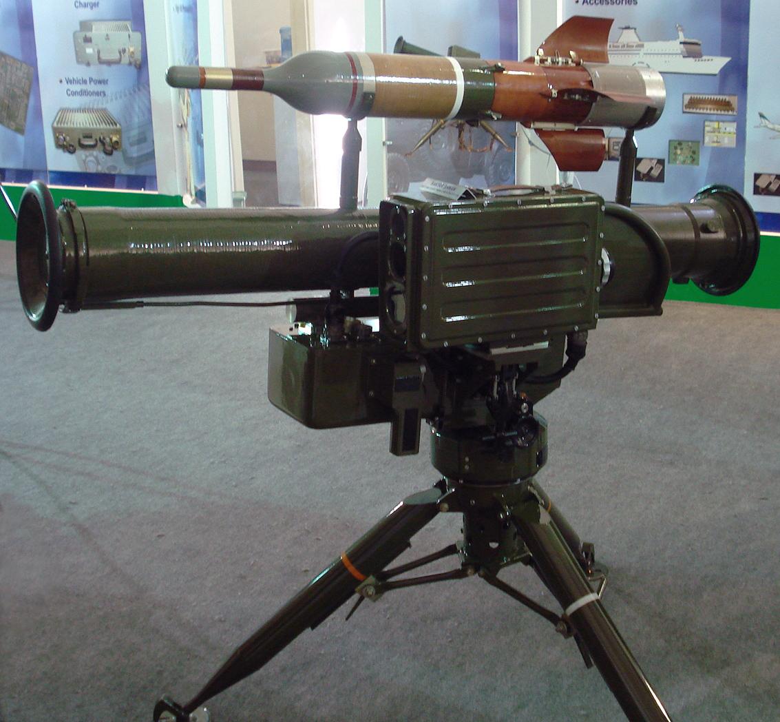 الصواريخ المضاده للدروع  BaktarShikan3
