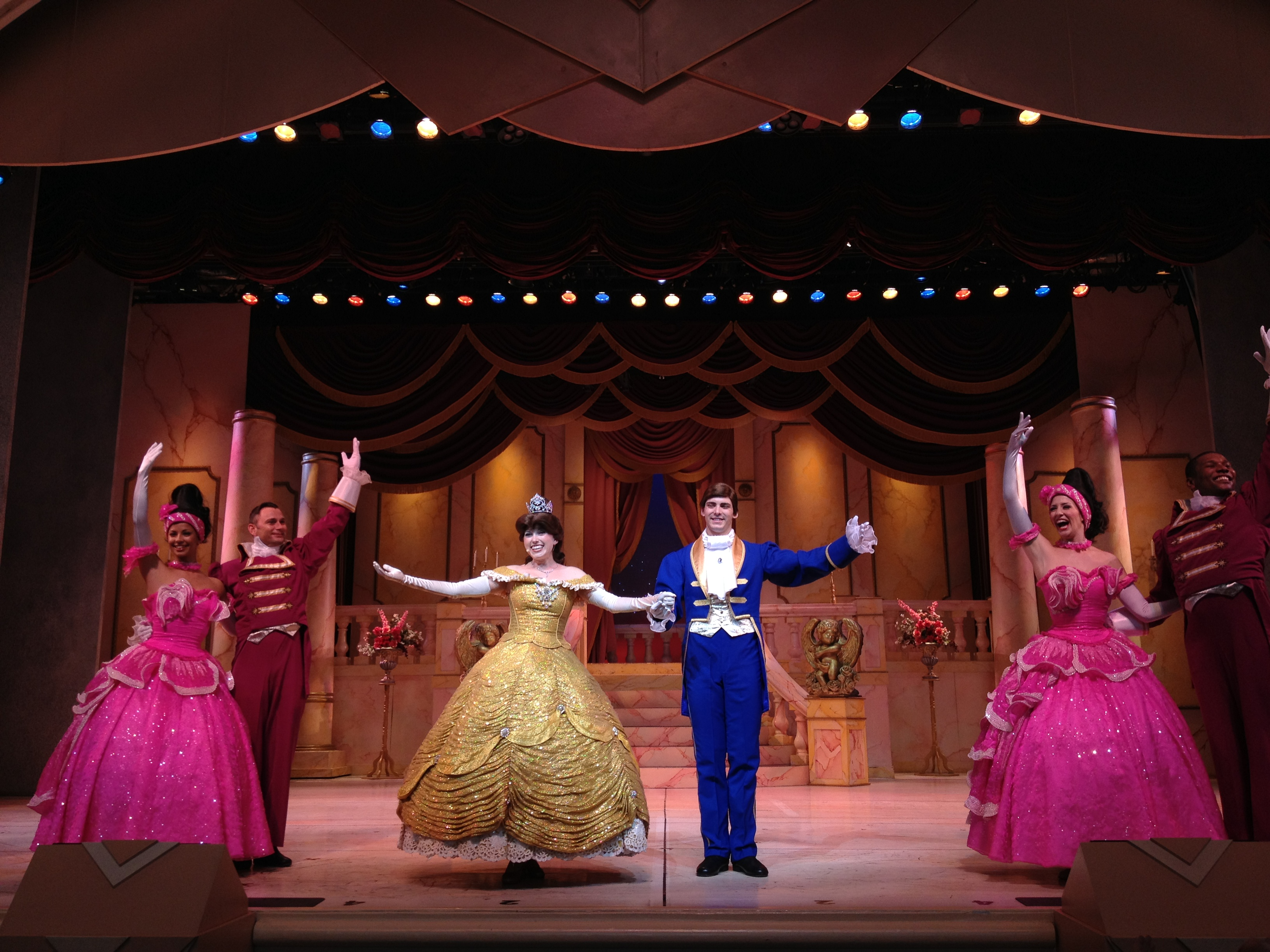 Beauty and the Beast Live on Stage - Wikipedia