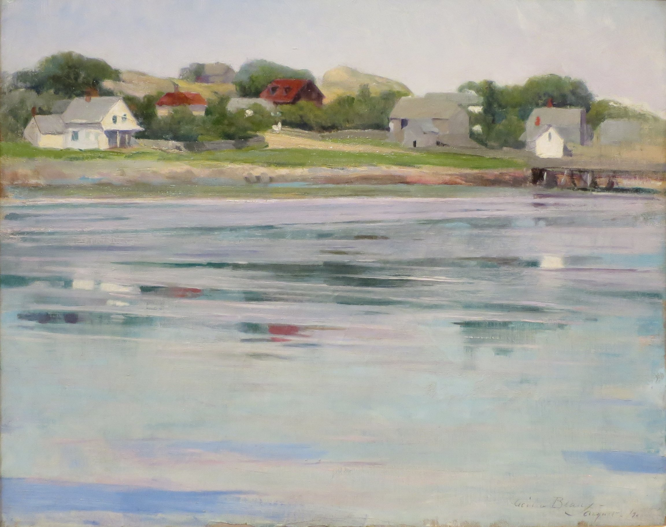 Half-tide Annisquam River