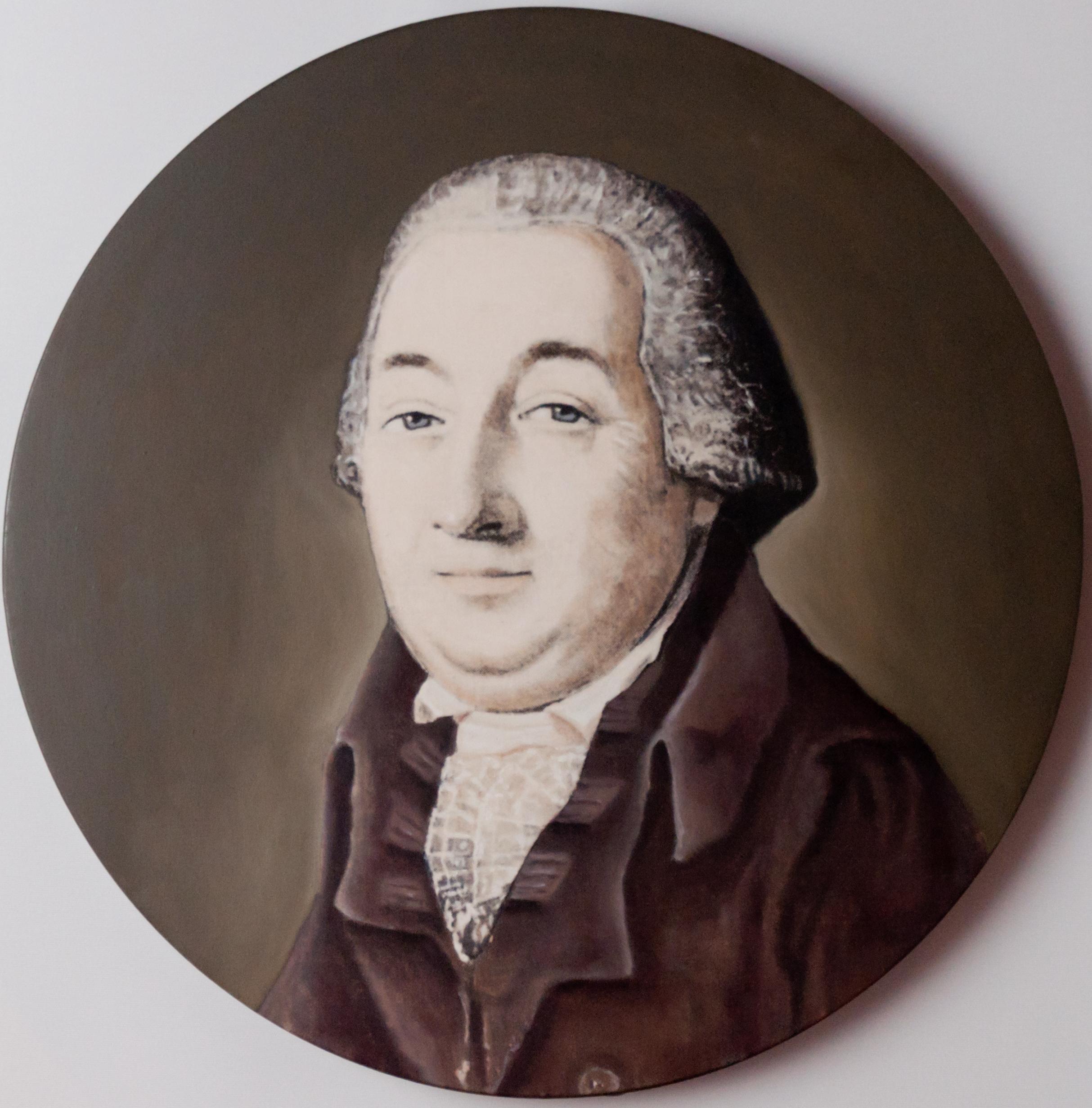 Medaillon Johann Gottfried Brügelmann
