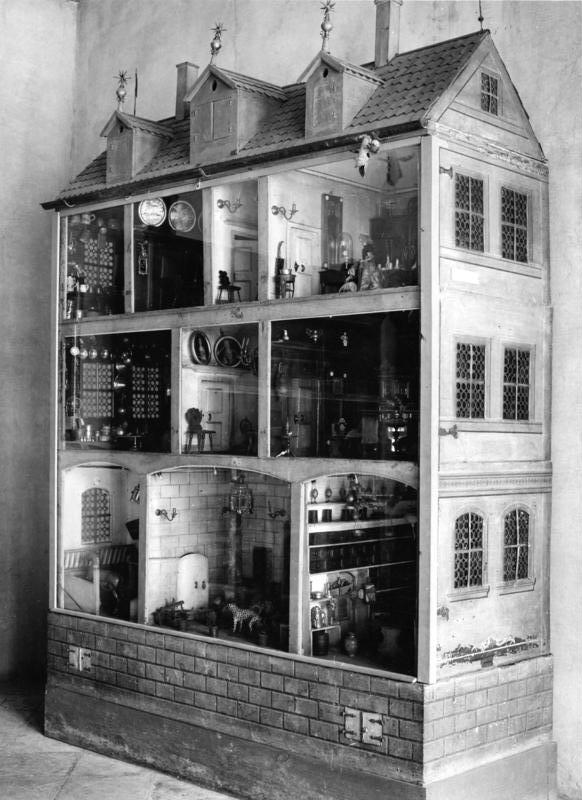 Domek dla lalek wikipedia wolna encyklopedia for Poppenhuis bouwen