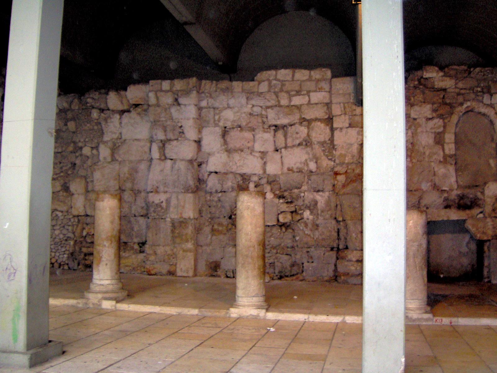 AE25 de la Rebelión de Bar Kojba. Judea. 132-135 d.C. Cardo-jerusalem