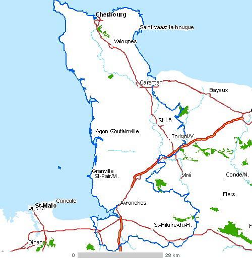 Cotentin Peninsula - Wikipedia