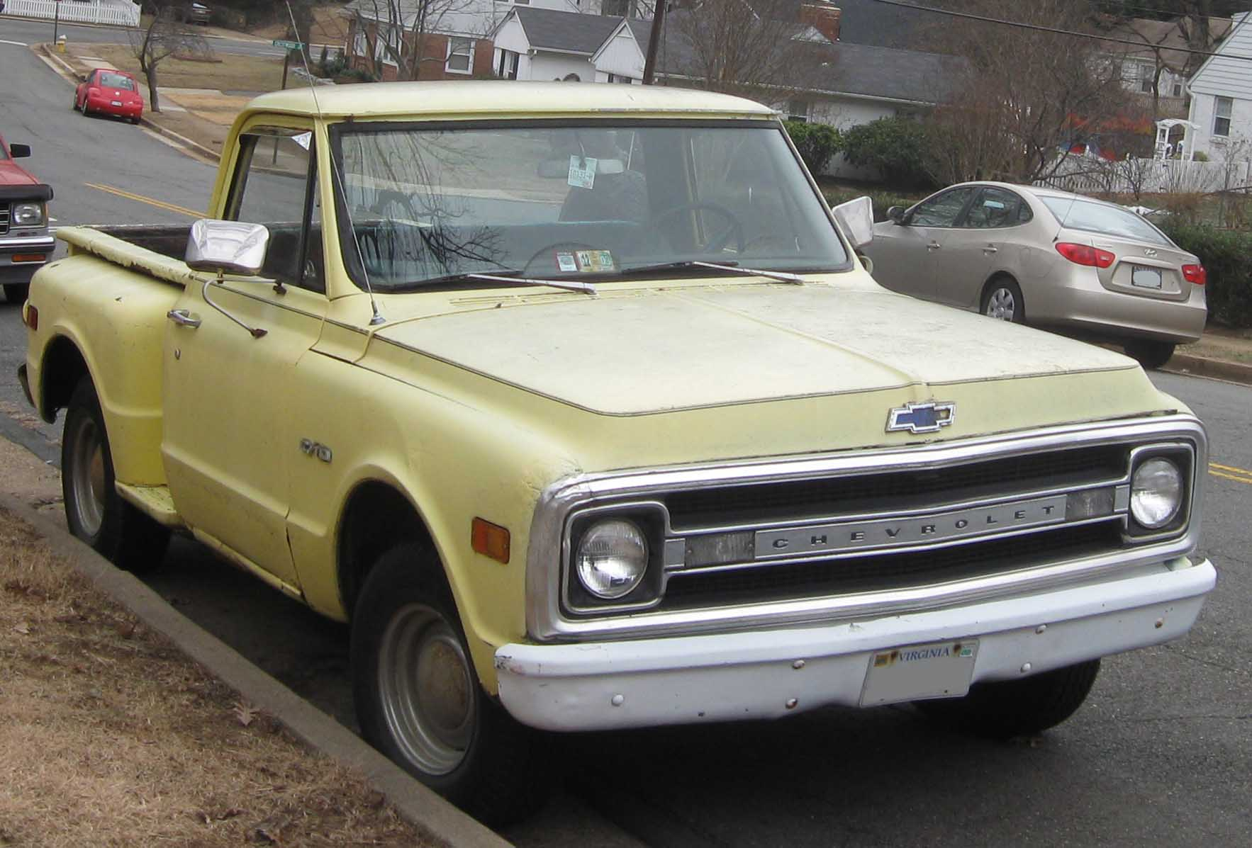 File Chevrolet C 10 Pickup Jpg Wikipedia
