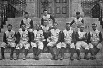 Colorado's First football team in 1890 Colorado football team 1890.jpg