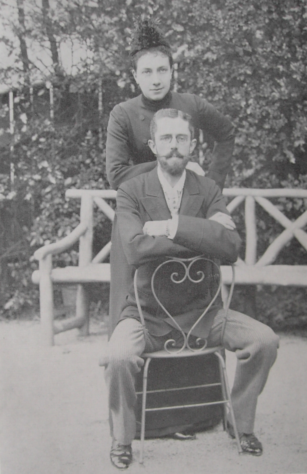 File Crown Princess Victoria And Crown Prince Gustav In 1890