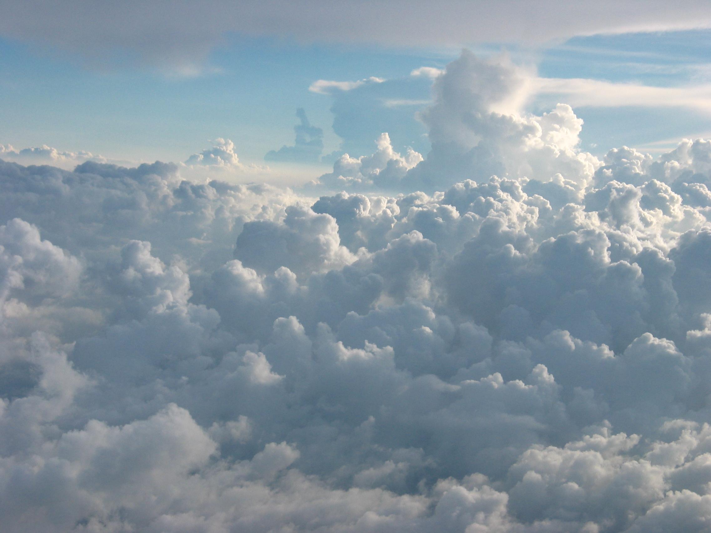 File Cumulus Clouds Ov...