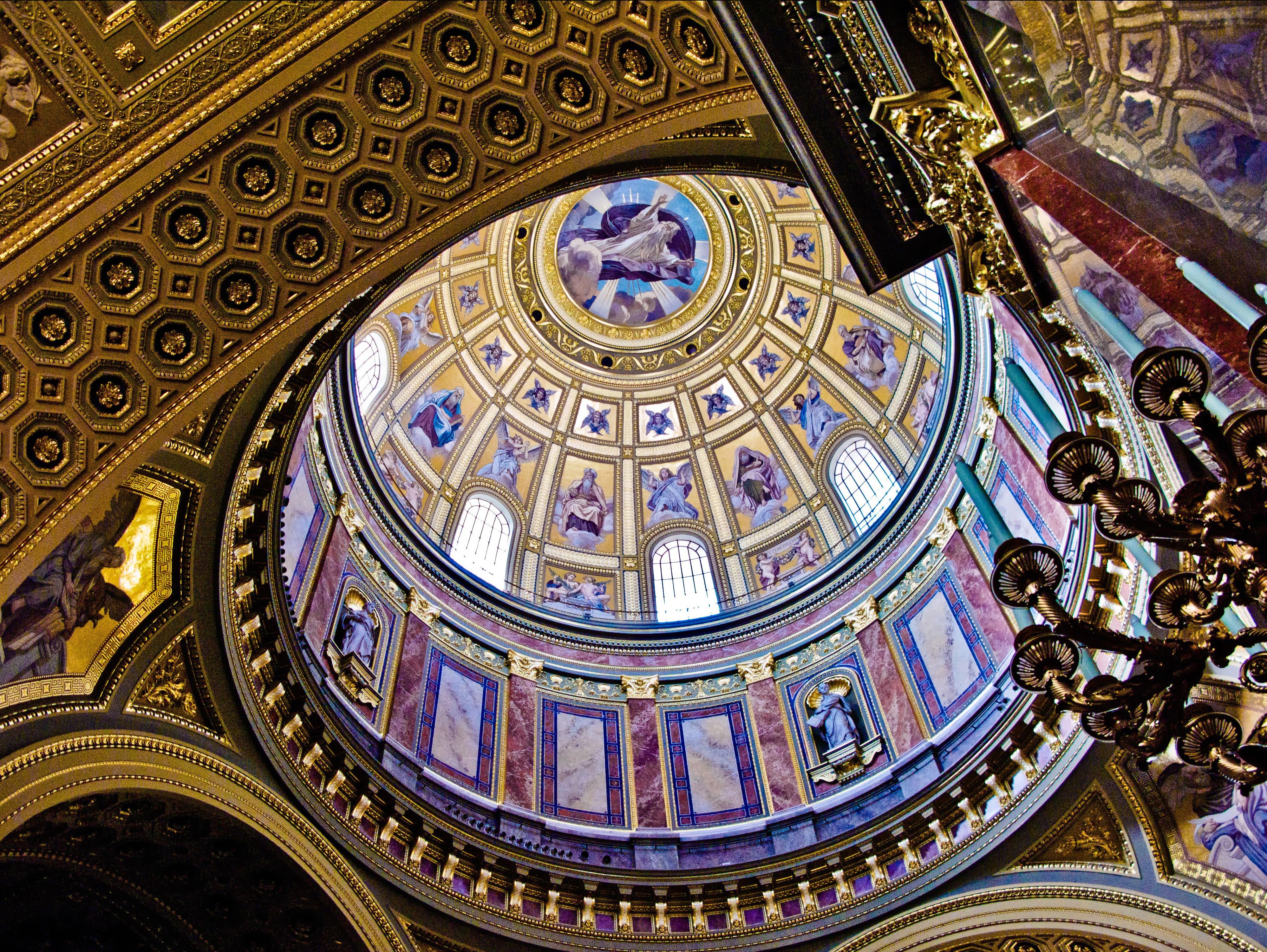 Dôme basilique saine Etienne Budapest