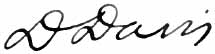 David Davis, Justice of the United States Supreme Court (signature).jpg