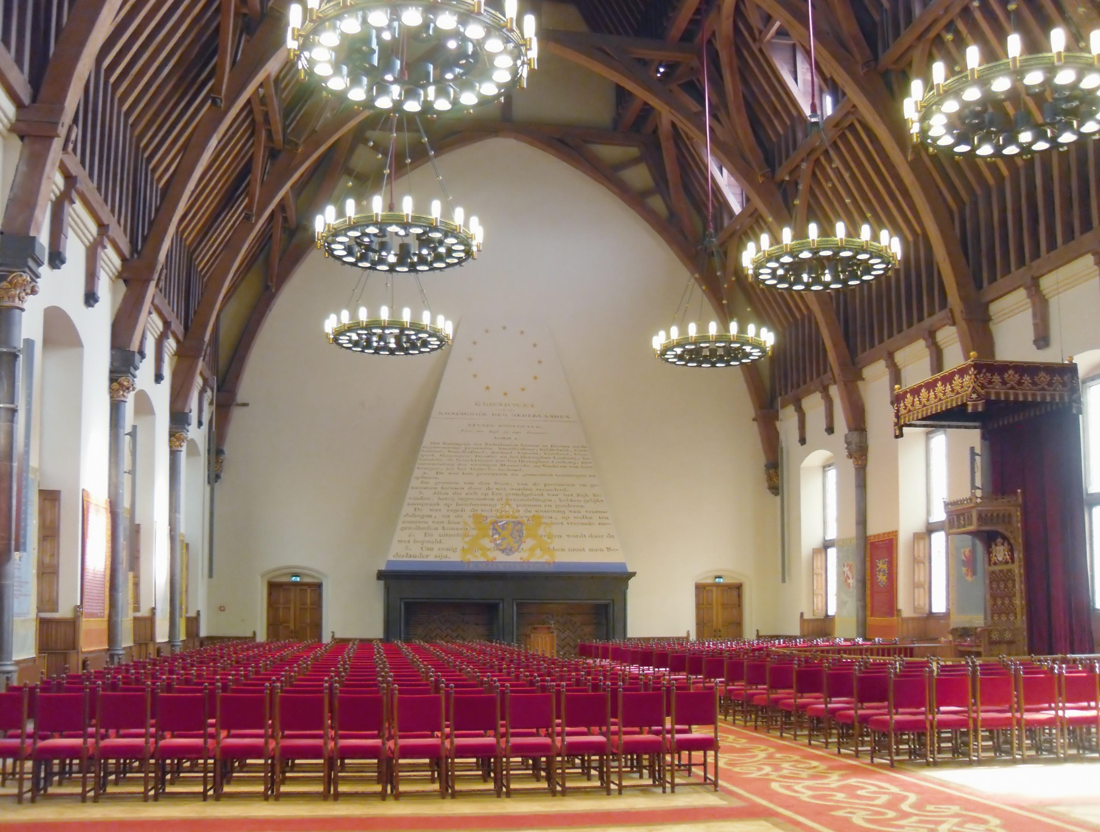 File de ridderzaal van het binnenhof den for Melchior interieur den haag