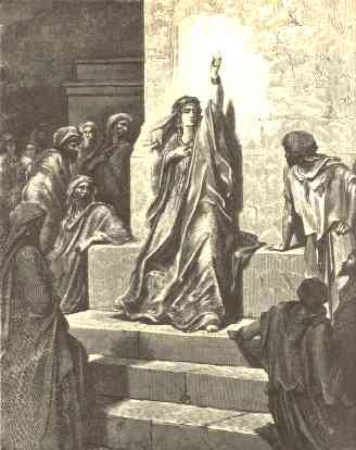 Gustave Dore's interpretation of the prophetes...