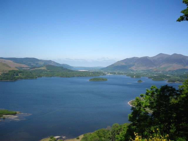 Derwent Water from Surprise View - geograph.org.uk - 1274273