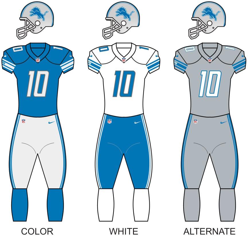 lions football jersey