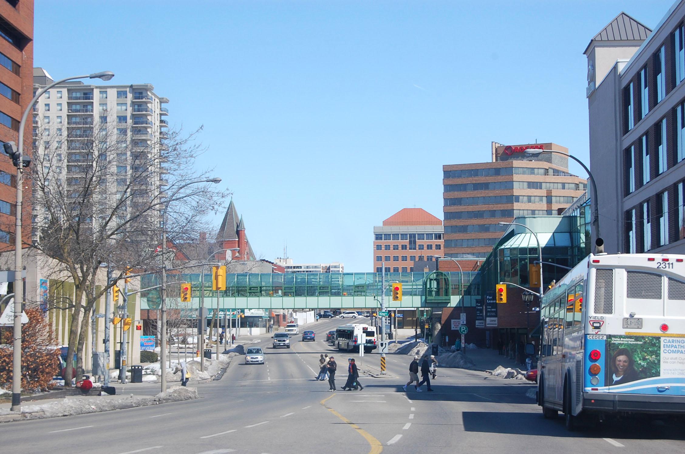 Ontario Canada Downtown Kitchener, onta...
