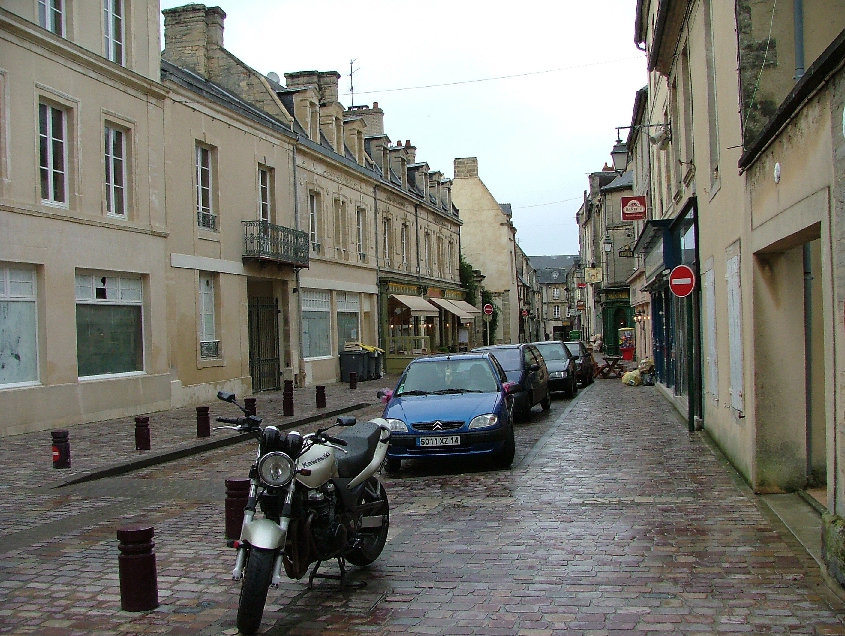 File Downtown View Of Bayeux  France Jpg